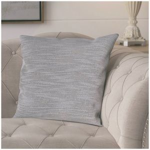 Two Pillow Covers in Grey